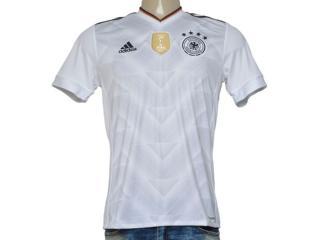 Camiseta Masculina Adidas B47873 Alemanha i Branco - Tamanho Médio