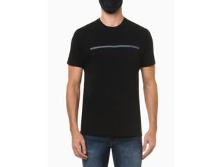 Camiseta Masculina Calvin Klein Ckjm102 Preto - Tamanho Médio