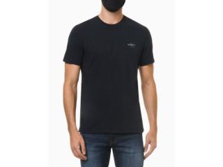 Camiseta Masculina Calvin Klein Ckjm103 Marinho - Tamanho Médio
