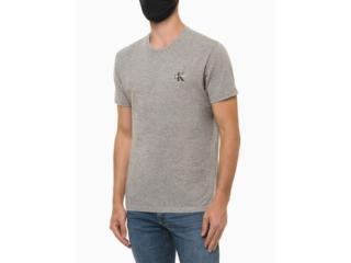 Camiseta Masculina Calvin Klein Ckjm103 Mescla - Tamanho Médio