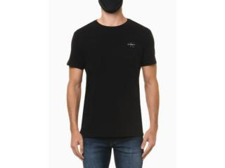Camiseta Masculina Calvin Klein Ckjm103 Preto - Tamanho Médio