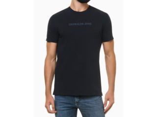 Camiseta Masculina Calvin Klein Ckjm106 Marinho - Tamanho Médio
