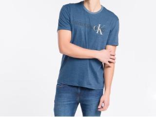 Camiseta Masculina Calvin Klein Cm1oc01i4013 Azul Médio - Tamanho Médio