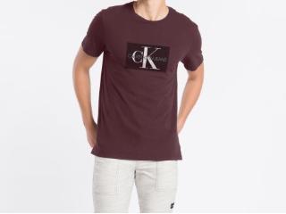 Camiseta Masculina Calvin Klein Cm1oc01i4014 Bordo - Tamanho Médio