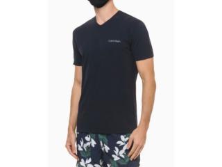 Camiseta Masculina Calvin Klein Cm1os01i3020 Marinho - Tamanho Médio