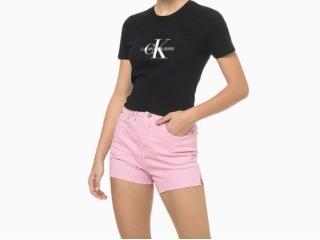 Camiseta Feminina Calvin Klein Cf1oc01bc738 Preto - Tamanho Médio