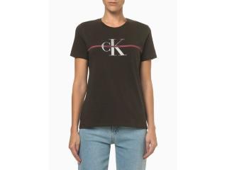 Camiseta Feminina Calvin Klein Cf1oc01bc739 Militar - Tamanho Médio