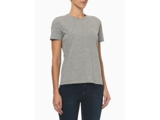Camiseta Feminina Calvin Klein Ckjf100 Mescla - Tamanho Médio