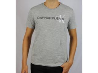 Camiseta Masculina Calvin Klein Cm0oc01tc863 Mescla - Tamanho Médio