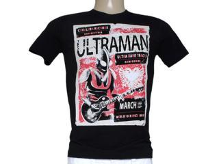 Camiseta Masculina Cavalera Clothing 01.01.7809 Preto - Tamanho Médio