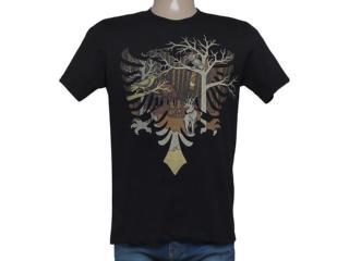 Camiseta Masculina Cavalera Clothing 01.01.8264 Aguia Preto - Tamanho Médio