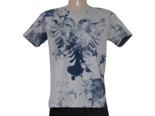 Camiseta Masculina Cavalera Clothing 01.01.8307 Mescla - Tamanho Médio