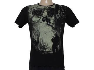 Camiseta Masculina Cavalera Clothing 01.01.8310 Preto - Tamanho Médio