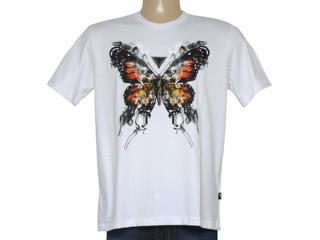 Camiseta Masculina Cavalera Clothing 01.01.8686 Branco - Tamanho Médio