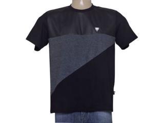 Camiseta Masculina Cavalera Clothing 01.01.9028 Preto - Tamanho Médio