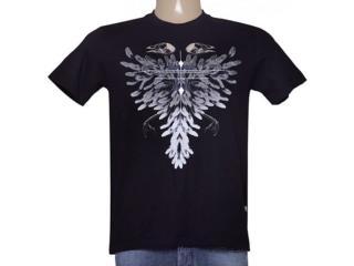 Camiseta Masculina Cavalera Clothing 01.01.8948 Preto - Tamanho Médio