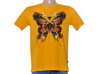 Camiseta Masculina Cavalera Clothing 01.01.8686 Amarelo Mostarda - Tamanho Médio