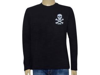 Camiseta Masculina Cavalera Clothing 01.02.0711 Preto - Tamanho Médio
