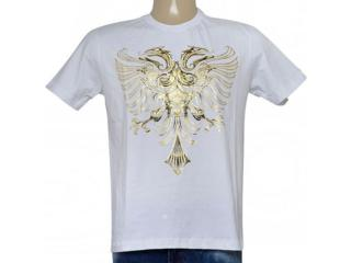 Camiseta Masculina Cavalera Clothing 01.01.9054 Branco - Tamanho Médio