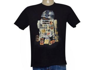 Camiseta Masculina Cavalera Clothing 01.01.8956 Preto - Tamanho Médio