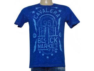 Camiseta Masculina Cavalera Clothing 01.01.9044 Royal - Tamanho Médio