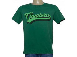 Camiseta Masculina Cavalera Clothing 01.20.0177 Verde Musgo - Tamanho Médio