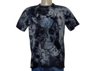 Camiseta Masculina Cavalera Clothing 01.01.9611 Marinho Estonado - Tamanho Médio