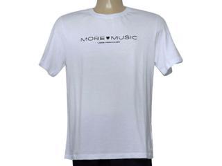 Camiseta Masculina Cavalera Clothing 01.20.0212 Branco - Tamanho Médio