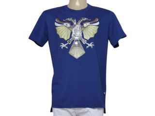 Camiseta Masculina Cavalera Clothing 01.01.9339 Marinho - Tamanho Médio