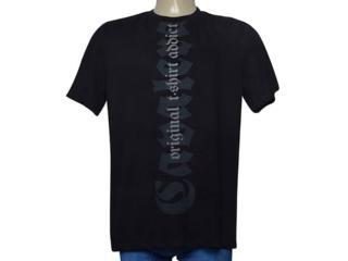 Camiseta Masculina Cavalera Clothing 01.01.9699 Preto - Tamanho Médio