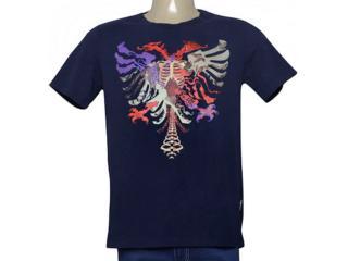 Camiseta Masculina Cavalera Clothing 01.01.9979 Azul Petróleo - Tamanho Médio