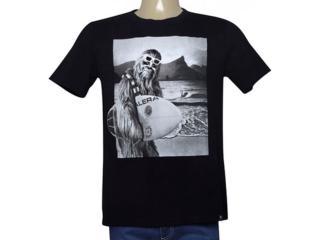 Camiseta Masculina Cavalera Clothing 01.01.9969 Preto - Tamanho Médio