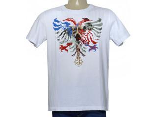 Camiseta Masculina Cavalera Clothing 01.01.9979 Branco - Tamanho Médio