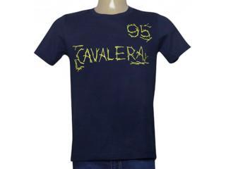 Camiseta Masculina Cavalera Clothing 01.20.0016 Azul Petróleo - Tamanho Médio