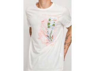 Camiseta Masculina Coca-cola Clothing 353207464 58529 Off White - Tamanho Médio