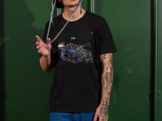Camiseta Masculina Coca-cola Clothing 353207568 0050 Preto - Tamanho Médio