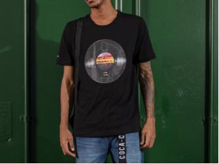 Camiseta Masculina Coca-cola Clothing 353207585 0050 Preto - Tamanho Médio