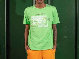 Camiseta Masculina Coca-cola Clothing 353207594 38949 Verde - Tamanho Médio
