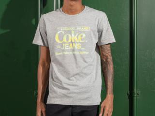 Camiseta Masculina Coca-cola Clothing 353207598 63007 Mescla - Tamanho Médio