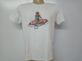 Camiseta Masculina Coca-cola Clothing 353207228 001 Branco - Tamanho Médio