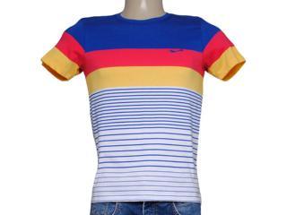 Camiseta Masculina Coca-cola Clothing 353204008 Azul/vermelho/amarelo - Tamanho Médio