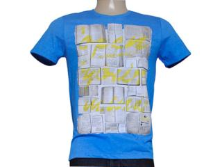 Camiseta Masculina Coca-cola Clothing 353203994 Azul Bic - Tamanho Médio
