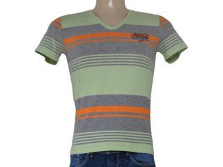 Camiseta Masculina Coca-cola Clothing 353203739 Mescla/verde - Tamanho Médio