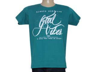 Camiseta Masculina Coca-cola Clothing 353204770 Verde - Tamanho Médio