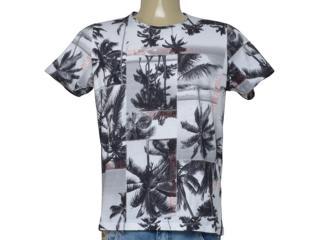 Camiseta Masculina Coca-cola Clothing 353206222 Vb14 Branca Estampada - Tamanho Médio