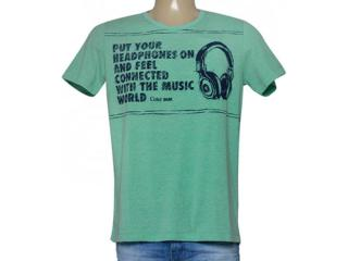 Camiseta Masculina Coca-cola Clothing 355200112 Verde - Tamanho Médio