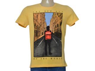 Camiseta Masculina Coca-cola Clothing 353205479 Amarelo - Tamanho Médio