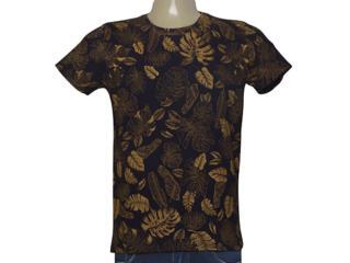 Camiseta Masculina Coca-cola Clothing 353205466 Var1 Preto Estampado - Tamanho Médio