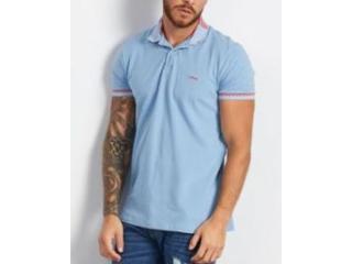 Camiseta Masculina Colcci 250102548 33856 Azul - Tamanho Médio