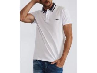 Camiseta Masculina Colcci 250102562 001 Branco - Tamanho Médio